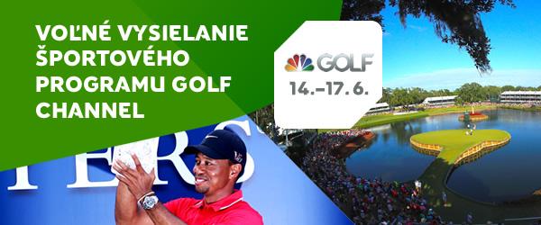 Voľné vysielanie programu Golf Channel