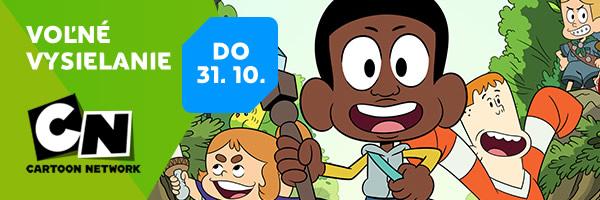 Voľné vysielanie Cartoon Network