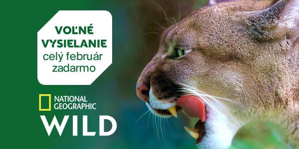 Voľné vysielanie programu National Geographic Wild HD